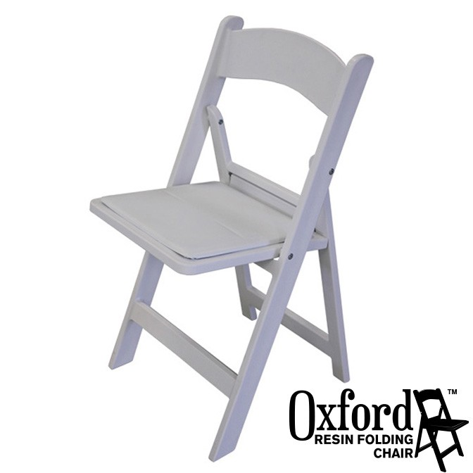 Cool Oxford White Resin Folding Chair Cjindustries Chair Design For Home Cjindustriesco