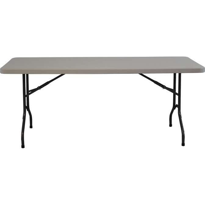 "8' x 30"" Resin Banquet Table"