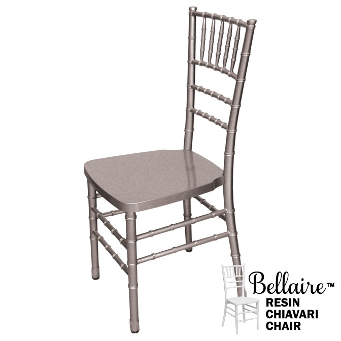Bellaire Silver Chiavari Chair