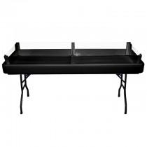 "8"" Black Table Depth Extension"