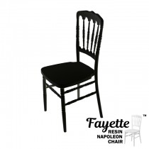 Fayette Black Napoleon Chair
