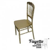 Fayette Gold Napoleon Chair