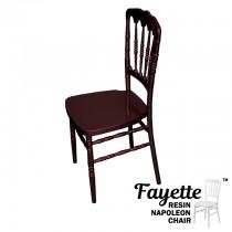 Fayette Mahogany Napoleon Chair