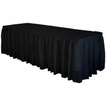 Fill'N Chill Polyester Skirting 21' Black