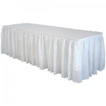 Fill'N Chill Polyester Skirting 21' White