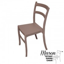 Mason Brown Tiffany Dining Chair