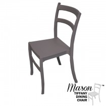 Mason Dark Gray Tiffany Dining Chair