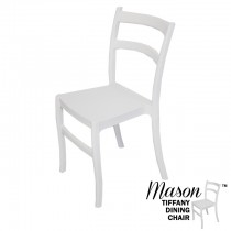 Mason White Tiffany Dining Chairs