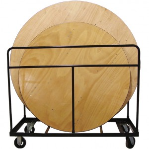 Heavy Duty Round Table Cart