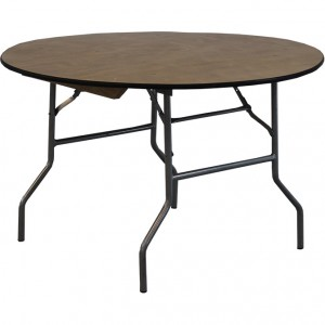 """48"""" Round Wood Table"""